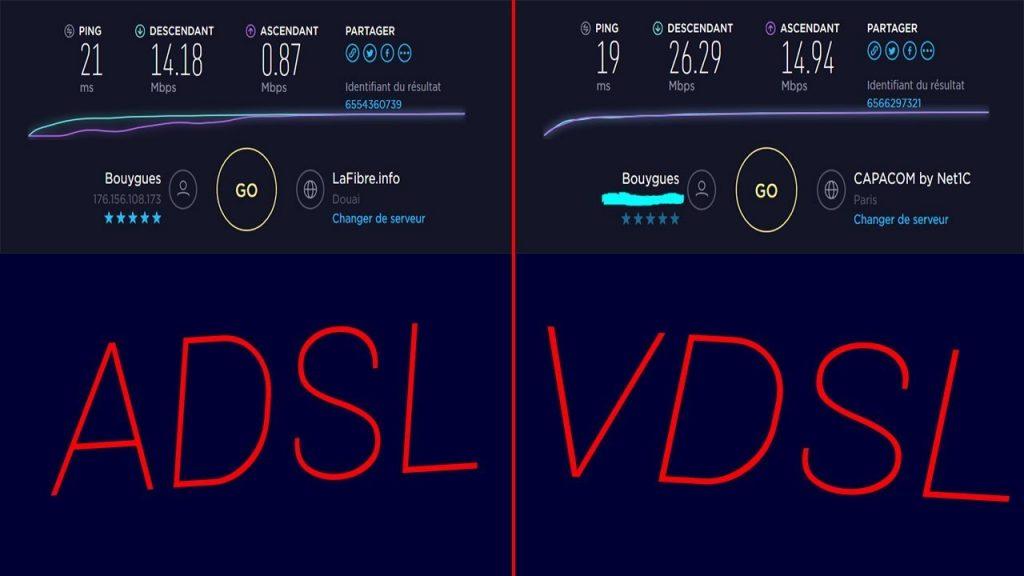 تفاوت اینترنت VDSL و ADSL