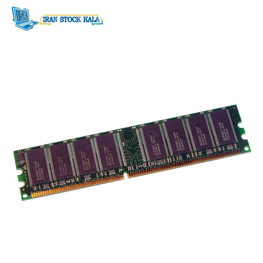 رم کامپیوتر کینگستون مدل KVR400X64C3A DDR1 ظرفیت 1 گیگابایت – کارکرده