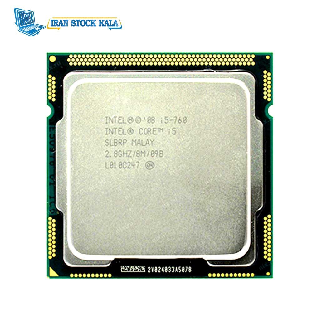 باندل مادربرد اینتل DDR3 مدل DP55WG و پردازنده Core i5-760
