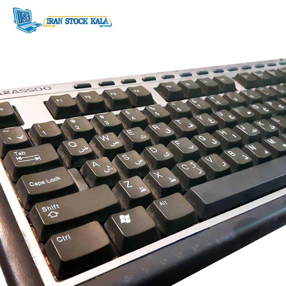 کیبورد فراسو مدل FCR-2880 با حروف فارسی – کارکرده