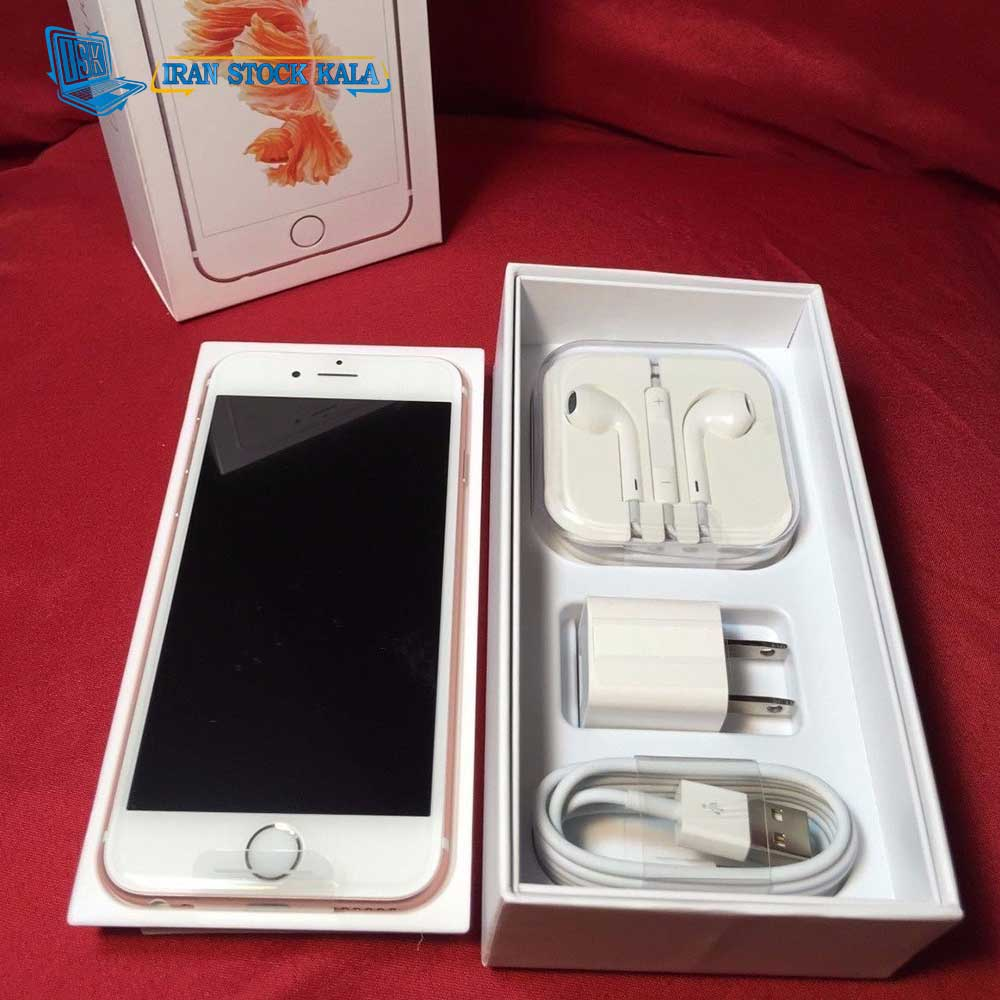 موبایل اپل مدل IPHONE 6S PLUS ظرفیت 128 گیگابایت – کارکرده