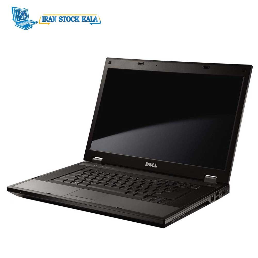 لپ تاپ 15.6 اینچی دل مدل E5510/Core i5-520M/4GIG DDR3/320GIG/Intel HD – کارکرده