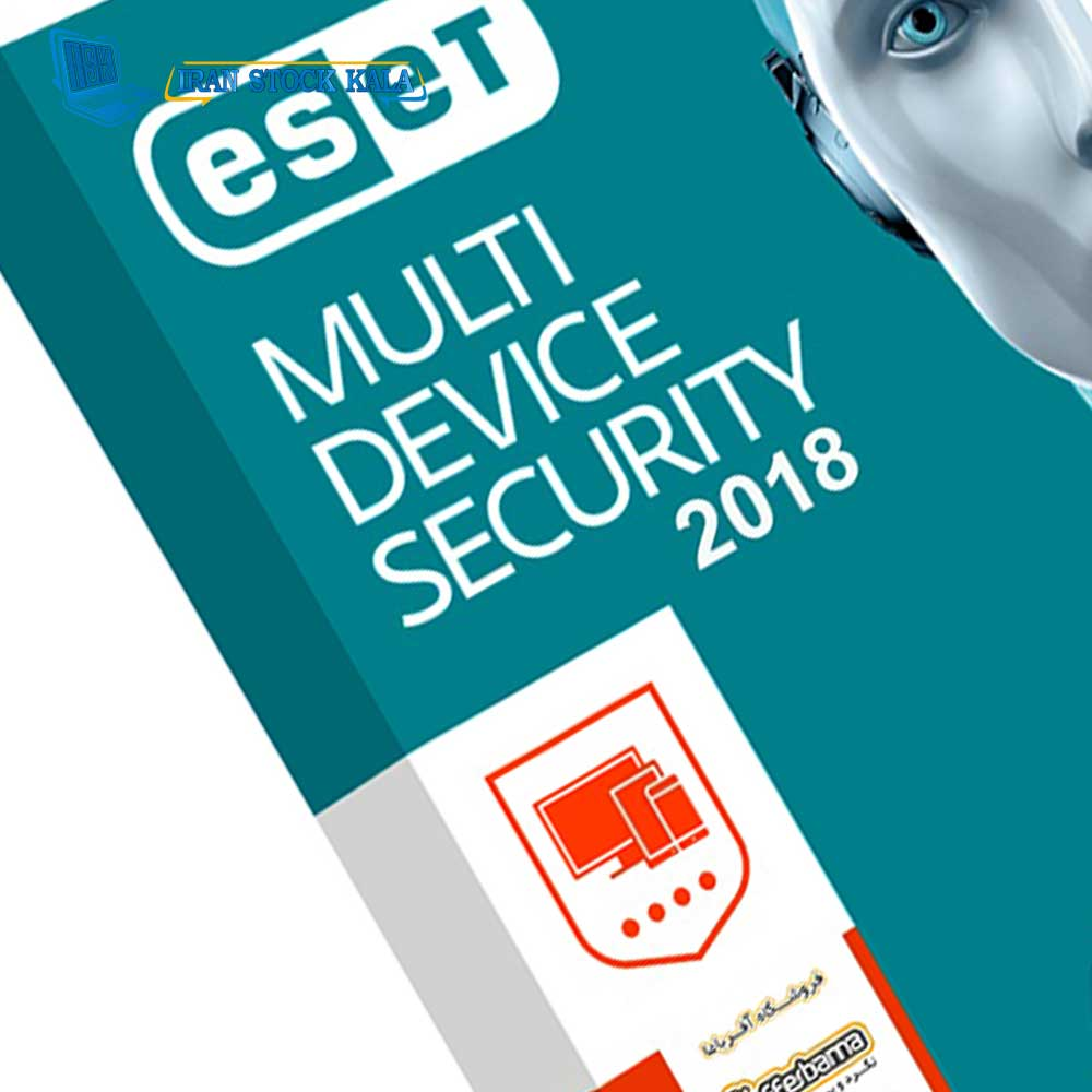 آنتی ویروس مولتی دیوایس دو کاربره یک ساله Eset Multi Device Security