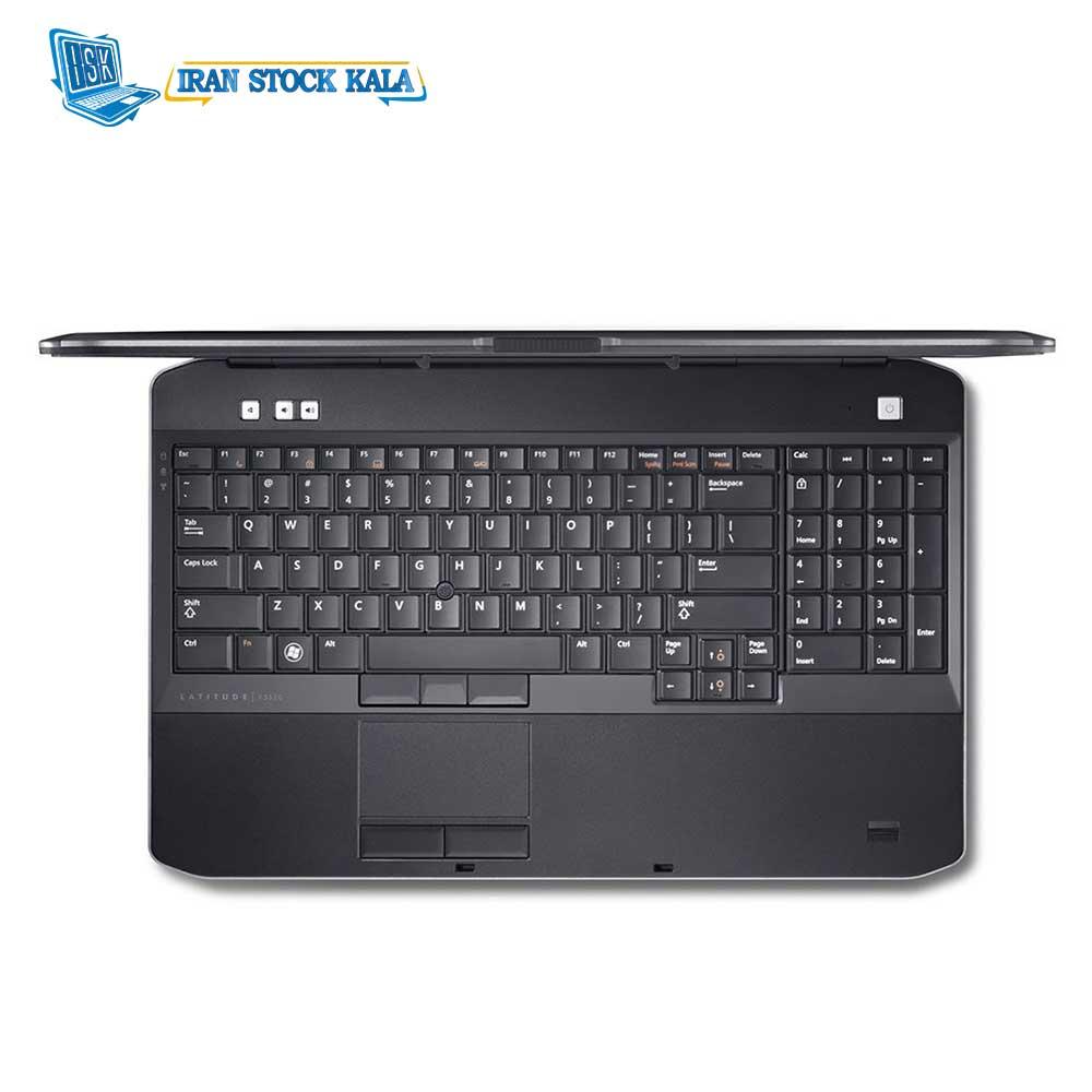 لپ تاپ 15.6 اینچی دل مدل E5530/Core i5-3310/4GIG DDR3/320GIG/Intel HD – کارکرده