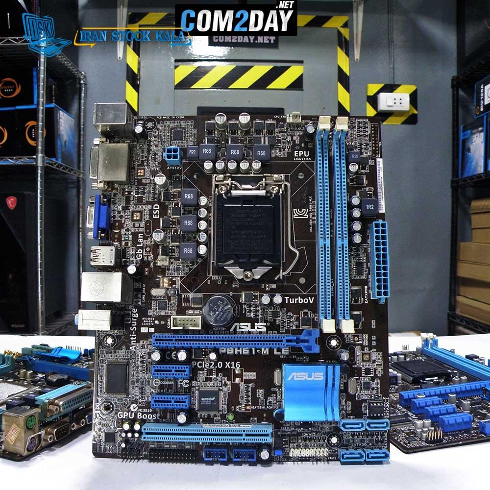 مادربرد ایسوس DDR3 مدل P8H61-MLX – کارکرده
